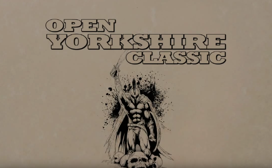 Open Yorkshire Classic Body Building Show 2010 video