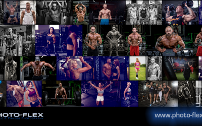 Specialist bodybuilding photography by Photo-flex Photography